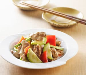 knorr-pork-cucumber-sliced-pork and cucumber-stir-fry-590x520