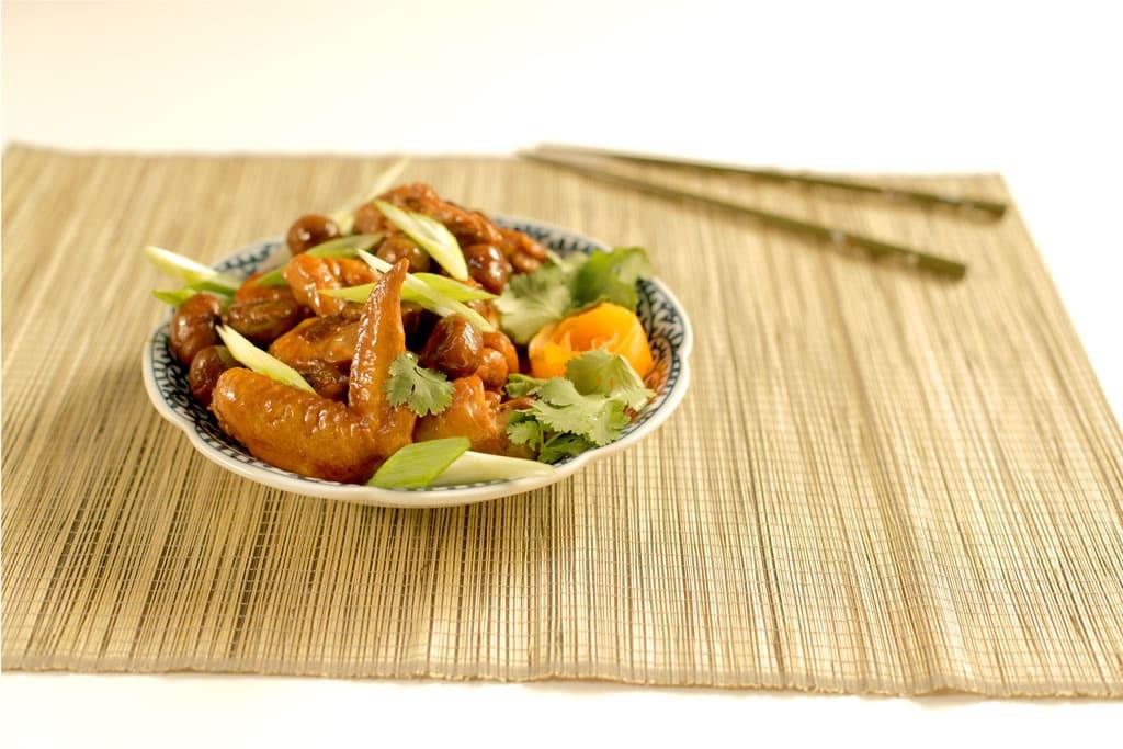 knorr-snack-whole chicken braised chicken with chestnuts