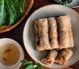 Fried Rice Paper Rolls