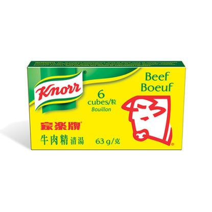 Bouillon cube boeuf Knorr