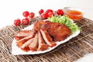 Bajoue de porc au gingembre savoureuse