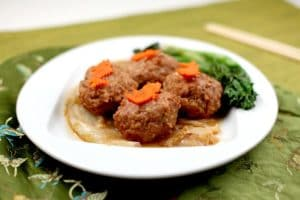 Boulette de viande tête de lion de Shanghai