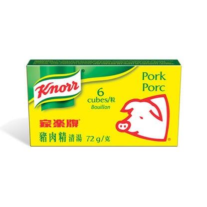 Bouillon cube porc Knorr