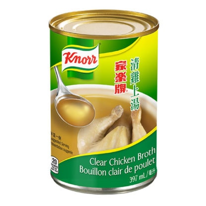 Bouillon clair de poulet Knorr
