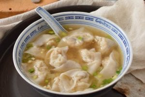 Wontons au poulet de The Woks Of Life