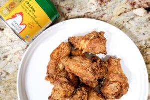 Ailes de poulet frit croustillantes