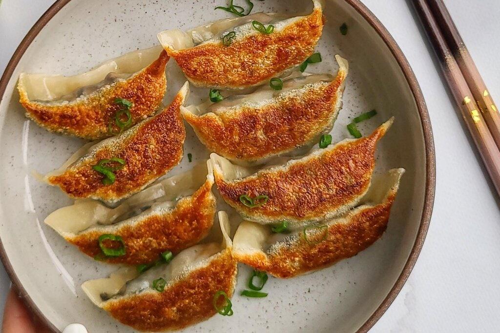 Mushroom Dumpling