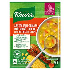 Sweet Corn & Chicken Soup Mix