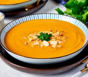 Soupe de Lentilles Corail et Carottes Halal