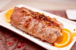 香甜的桂花焗肉排菜式