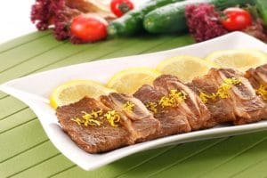柠香牛仔骨 - 香味浓郁的牛肉菜肴