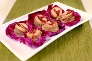 美味多汁的瑶柱焖鲍鱼