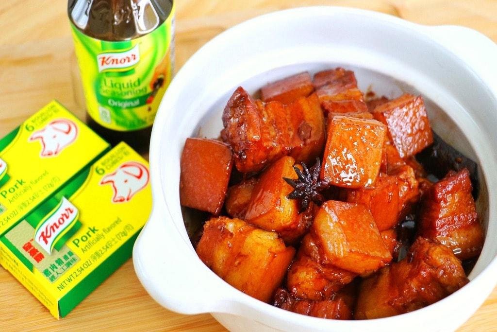 Red Braised Pork Belly