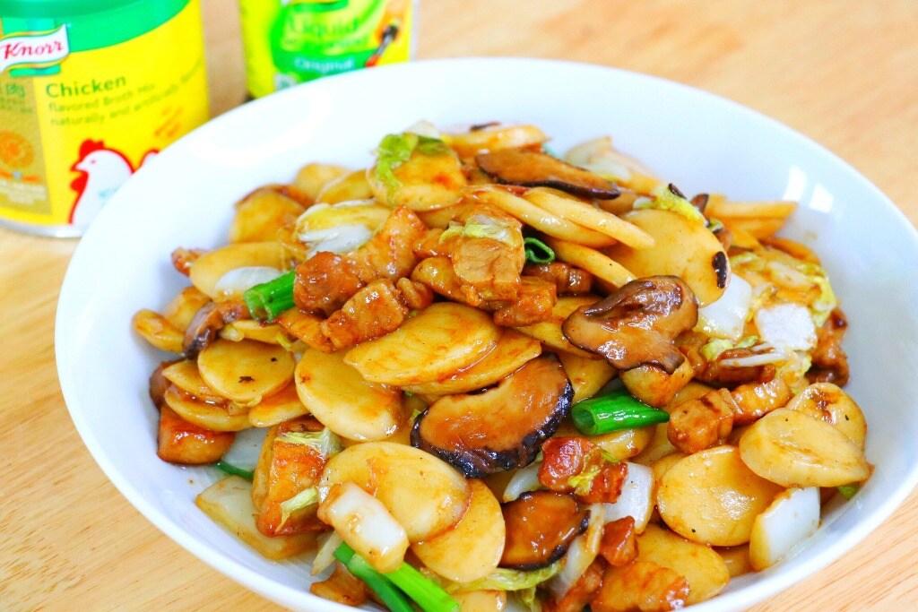 Stir Fry Nian Gao