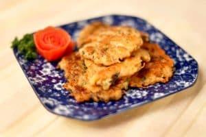 香煎蚝豉萝卜饼