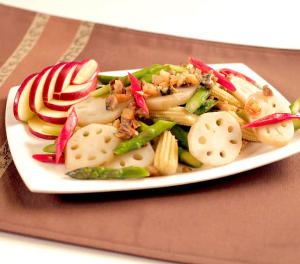 knorr-appetizer-dry-oyster-soaked-dry-seafood stir fry-with-vegetables-590x520