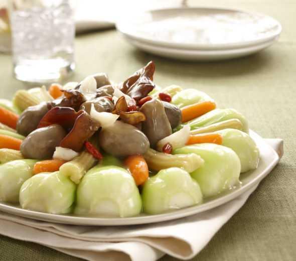 knorr-snack-stalks-shanghai bok choi vegetable-platter