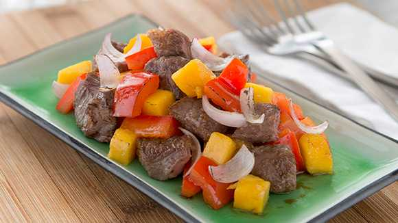 knorr-chinese beef mango-recipe