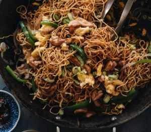 Hokkien Noodles by Maggie Zhu